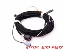OEM Rear View Camera Reversing Logo Camera Cable Wire Harness For VW Passat B8 hongge rcd 510 rns 310 rns315 12v rear view reversing camera cable harness for vw tiguan 5nd 827 566 c