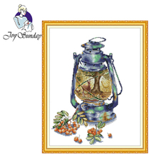 Joy Sunday,Autumn impression,cross stitch embroidery set,printing cloth embroidery kit,needlework,cross stitch pattern joy sunday magnolia flower cross stitch embroidery set printing cloth embroidery kit needlework flowers picture cross stitch kit