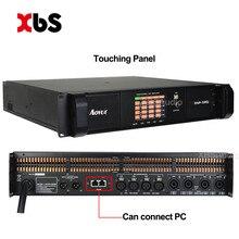 Новейший 4 канала 1300 Вт* 4 аудио Профессиональный усилитель мощности DSP DSP10Q