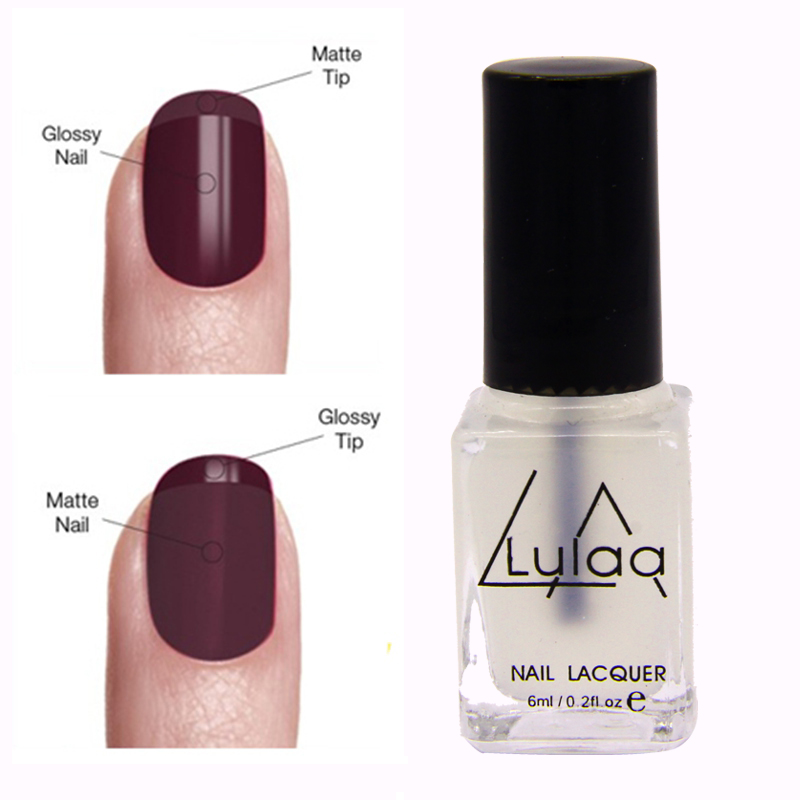 matte nail polish new arrival 6ml magic matte nail transparent 12437
