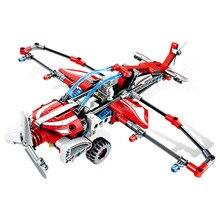 SEMBO Aircraft Pull Back Propeller Glider Flight Transport Model Building Blocks Sets Bricks kids Toys gift цена 2017