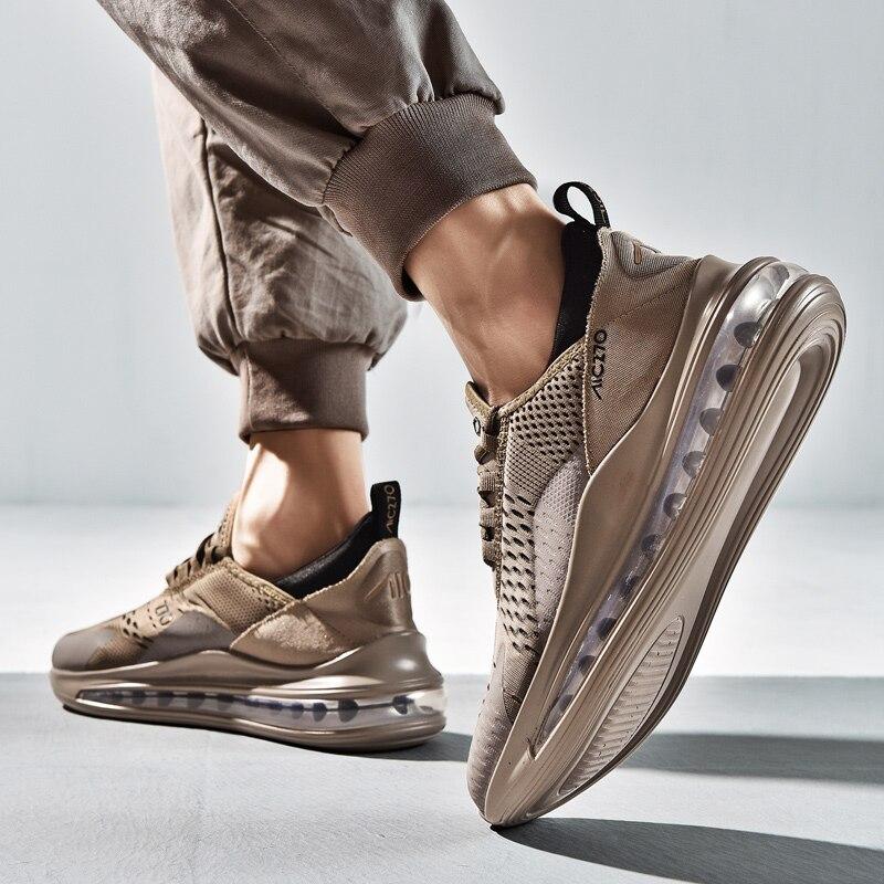 Leader Show Men Sports Shoes Rubber Air Mesh Light Trend Sneaker For Man Spring Sport Shoes Zapatillas Hombre 2019 Men Sneakers