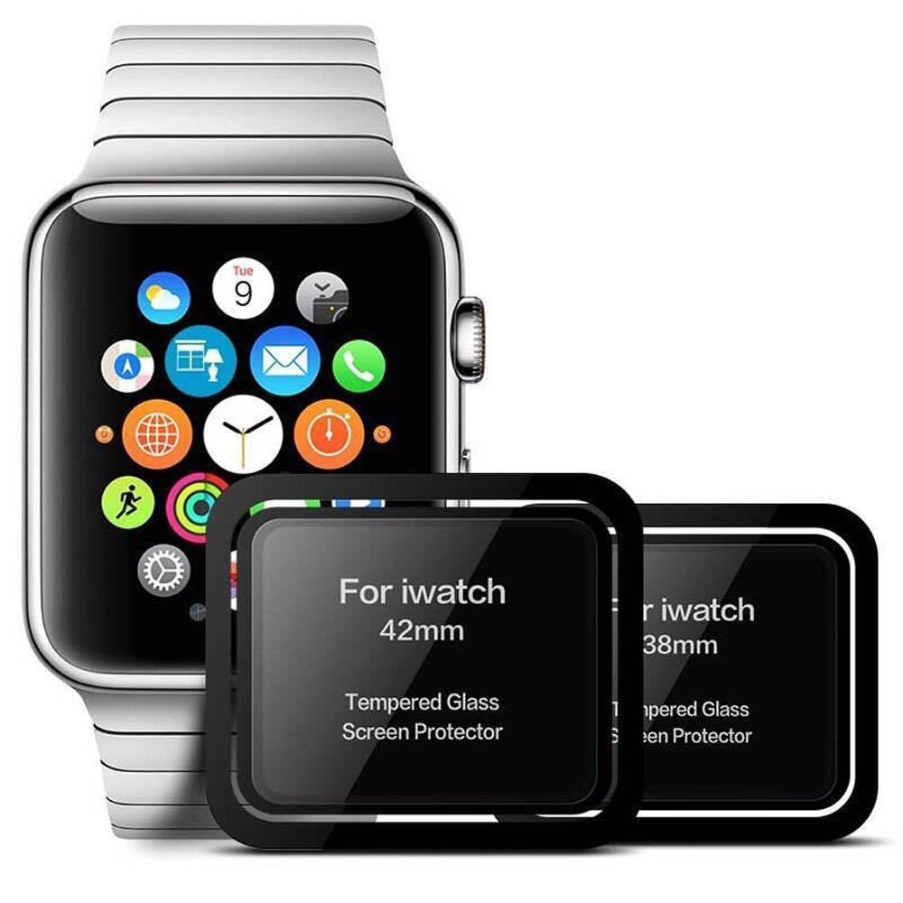 For-iWatch-Tempered-Glass-For-Apple-Watch-38mm-42mm-Series-1-2-3-3D-Full-Cover