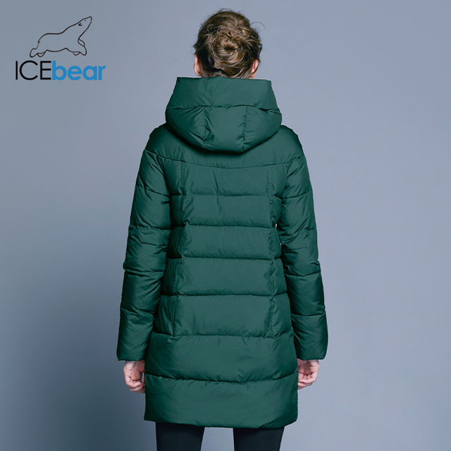 ICEbear 2018 Hot Sale Winter Womens Coats Down Thickening Jacket And Coat For Women High Quality Parka Five Colors 16G6128D 3