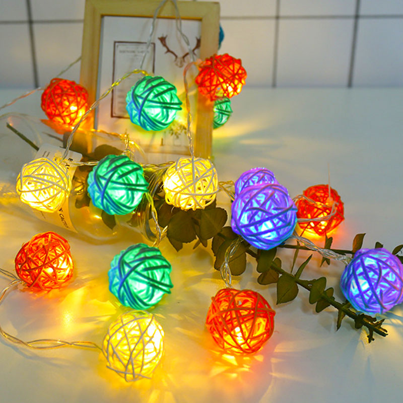 10 Led Fairy Cool Face Battery Operated String Lights Luminaria 1.5m Led Decoration For Christmas Garland On The Window New Year Led String Led Lighting