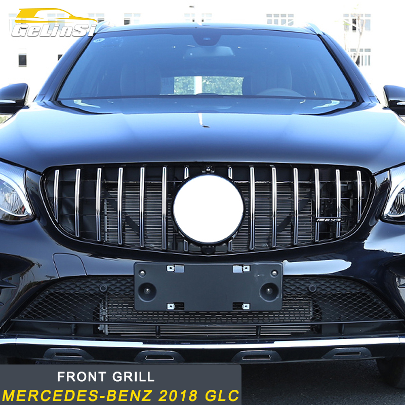 Gelinsi For Mercedes Benz 2018 GLC Auto Front grill Medium network modification