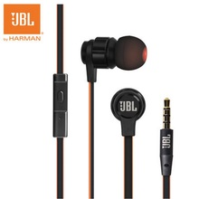 New Original JBL T180A Bass Stereo Earphone For Android iOS mobile phone Earbuds Headsets With Mic Earphones pk IE80 SE215