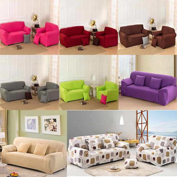 Varmhus Four Seater Sofa Removable Washable Elastic Slipcover Lounge Sette Couch  Cover In Sofa Cover From Home U0026 Garden On Aliexpress.com | Alibaba Group