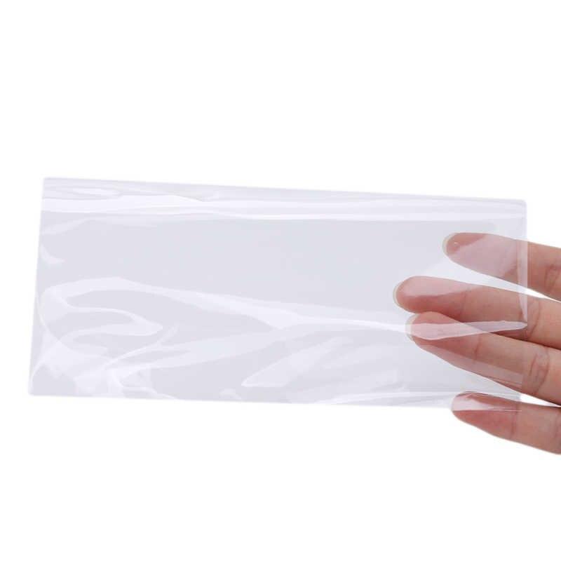 100 шт бумажные банкноты с коробкой для денег прозрачные ПВХ страницы бумажных денег Альбом для монет держатели денег