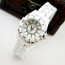 Ladies Watch New Fashion Women Analog Quartz Watch Female Ceramic Wrist Watches Women's Clock Relojes wavors vogue women watches cute cartoon cat leather band quartz watch ladies female watch analog dress wrist watches clock