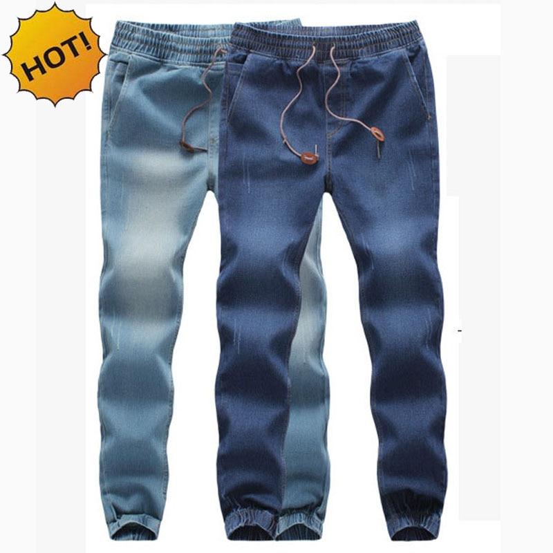 Mens Elastic Waist Jeans Pants Promotion-Shop for Promotional Mens ...