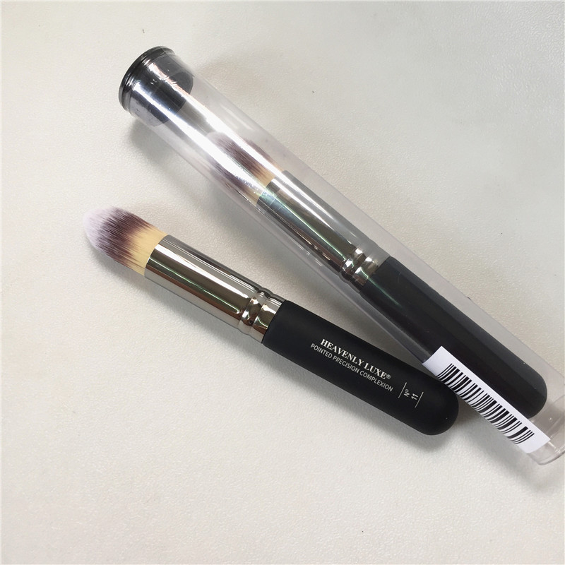 bdbeauty Heavenly Luxe Pointed Precision Complexion Brush #11 - Dense Hair Concealer Foundation Highlighter - Beauty Makeup Tool