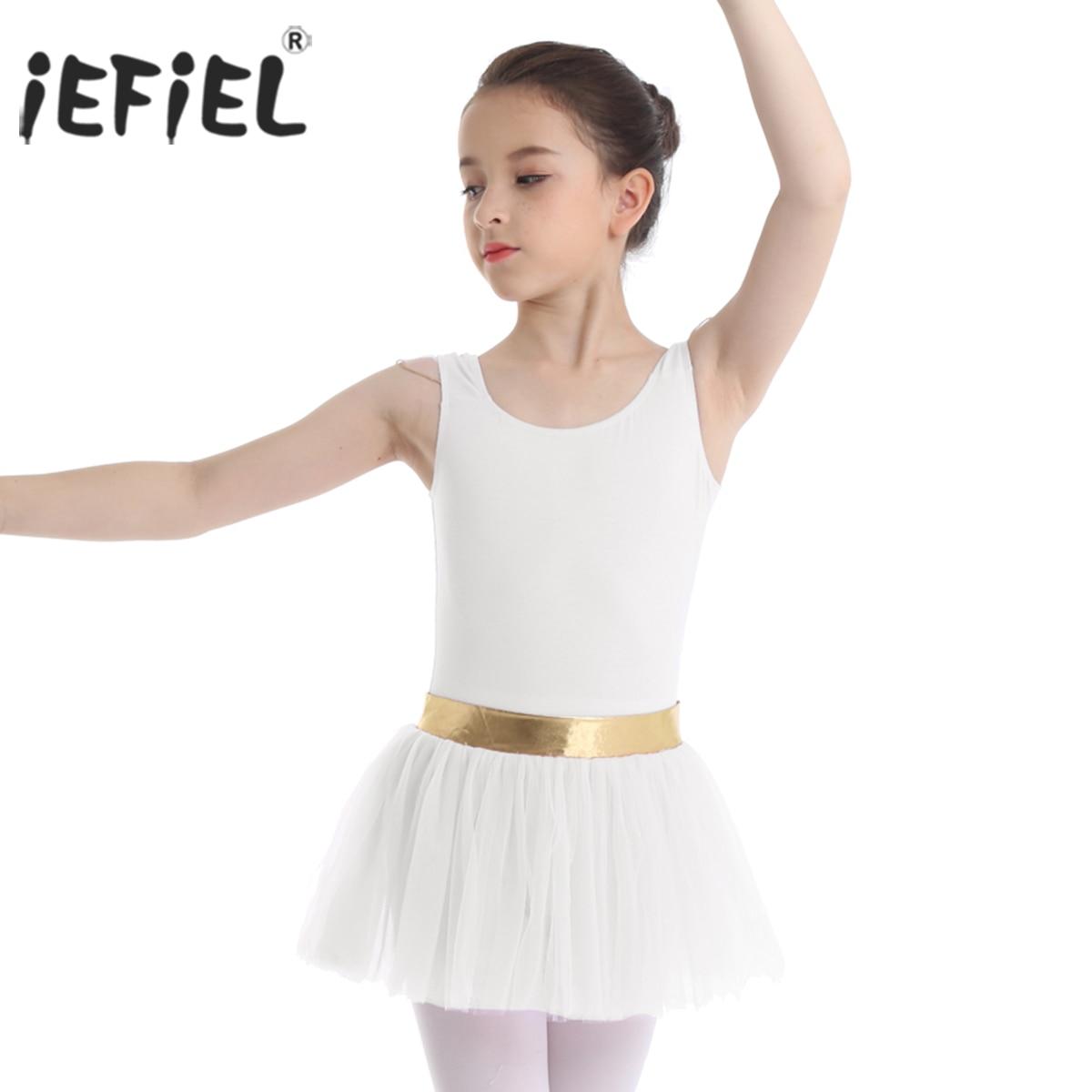 Kids Girls Lace Fly Sleeve Leotard for Dance Gymnastics Ballet Unitards Costume