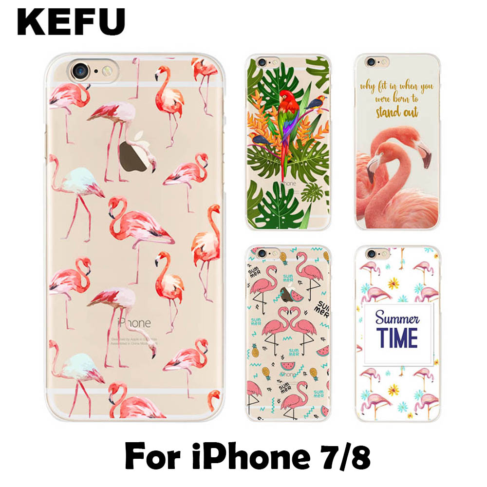 For coque iPhone 7 case Flamingo Soft silicone TPU cover for iPhone 7 new arrival for fundas iPhone 7 case