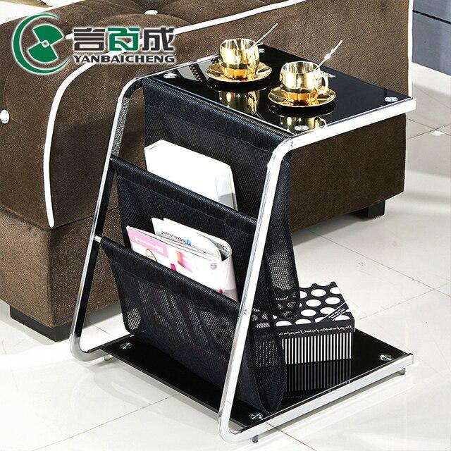 € 930.0  Introduction Baicheng minimaliste noir verre de stockage coin , un  peu petite table basse et loisirs canapé côté quelques uns téléphone ...