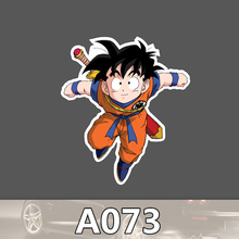A-073 Dragon Ball Goku Wasserdicht Mode Kühle DIY Aufkleber Für Laptop Gepäck Skateboard Kühlschrank Auto Graffiti Cartoon Aufkleber
