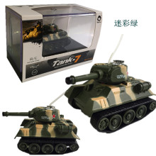 купить Rc Tank  Mini Tiger RC Tank Model Imitate  Remote Radio Control Tank Radio Controlled Electronic Toys Tank for Children Kids дешево