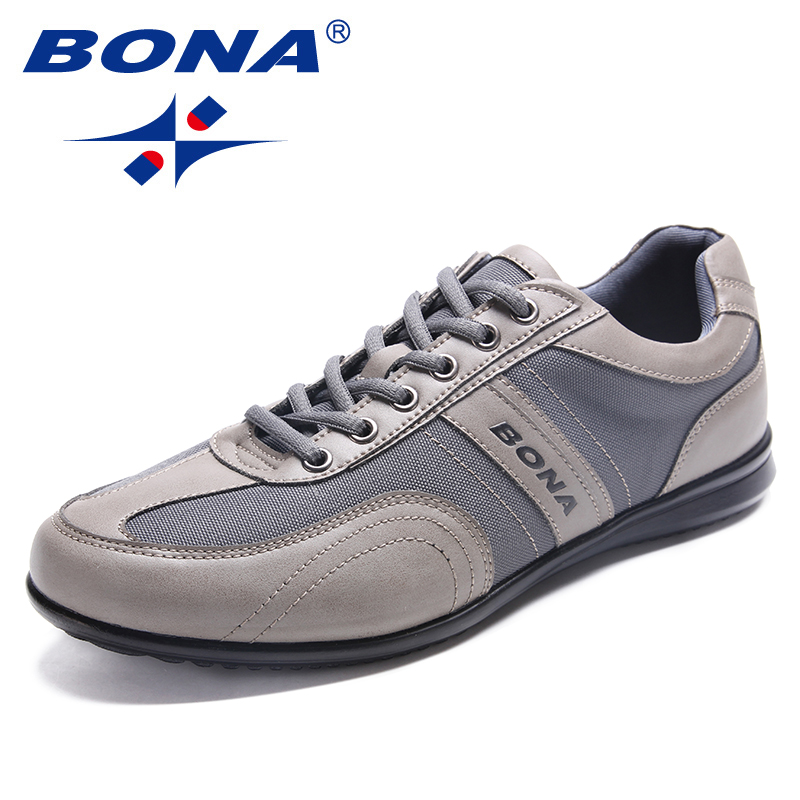 BONA New Classics Style Men Casual Shoes Lace Up Men Loafers Microfiber Men Shoes Comfortable Men Flats Light Free Fast Shipping цена 2017