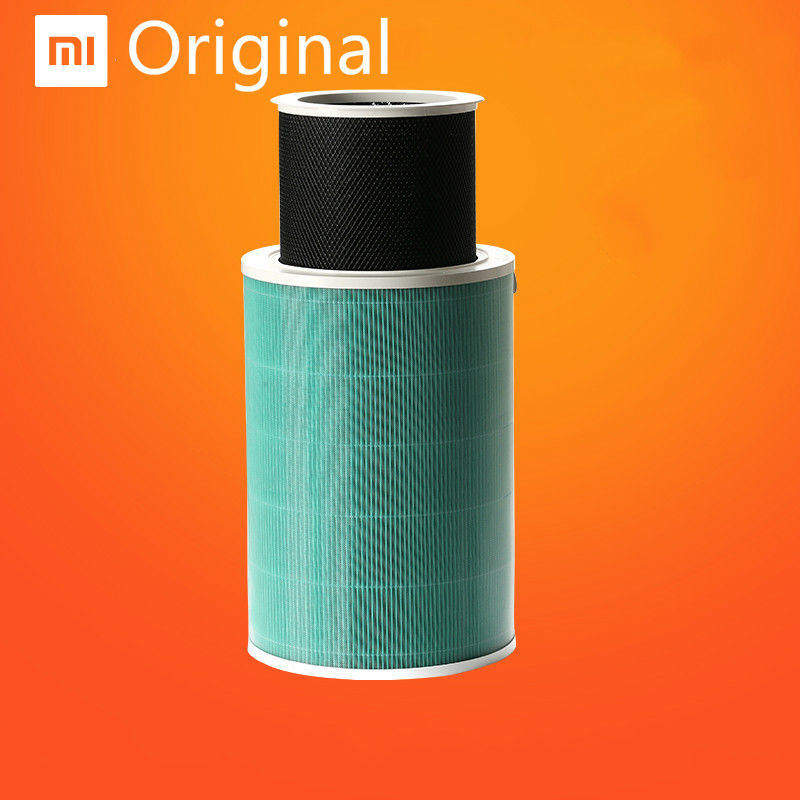 Original Xiaomi Air Purifier 2 Filter Air Cleaner Filter Intelligent Mi Air Purifier Core Removing HCHO Formaldehyde Version xiaomi mi smart air purifier 2nd gen hepa home air cleaner app control