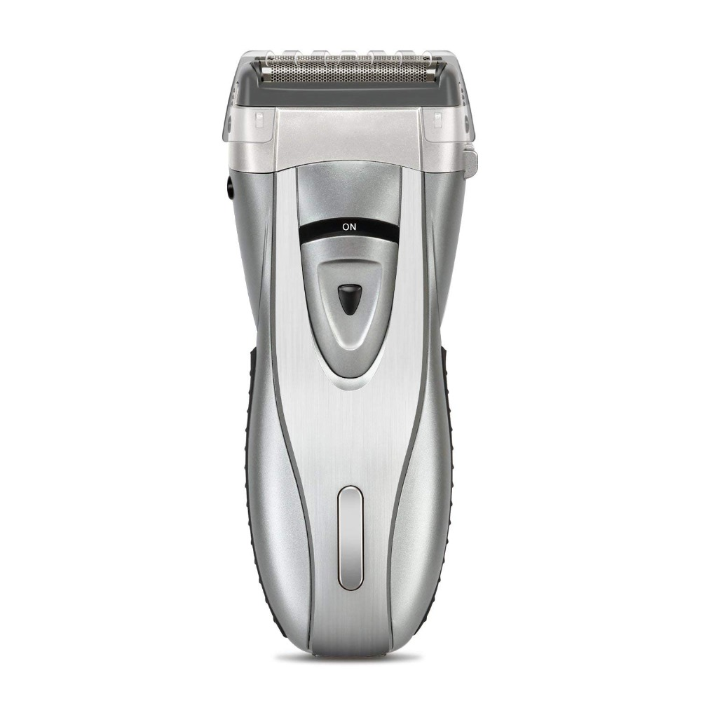 Rasoir électrique à 4 lames rasoir électrique pour hommes avec batterie Lithium-Ion et tondeuse de précision push-up avec verrouillage de voyage sûr