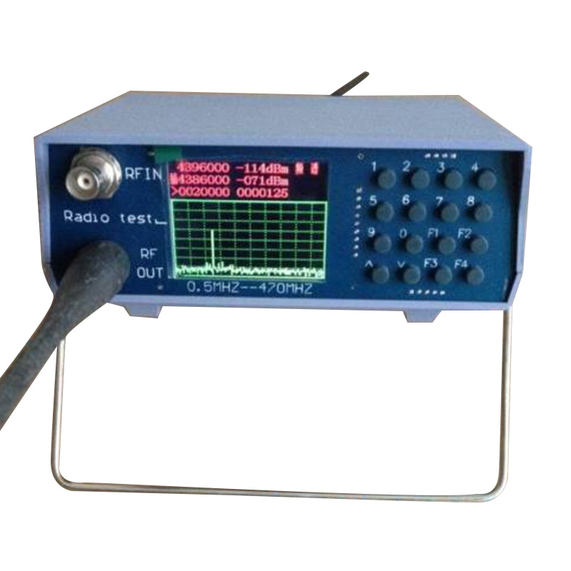 THGS U/V UHF VHF dual band spectrum analyzer with tracking source tuning Duplexers 1 500mhz noise signal generator noise source simple tracking source spectrum