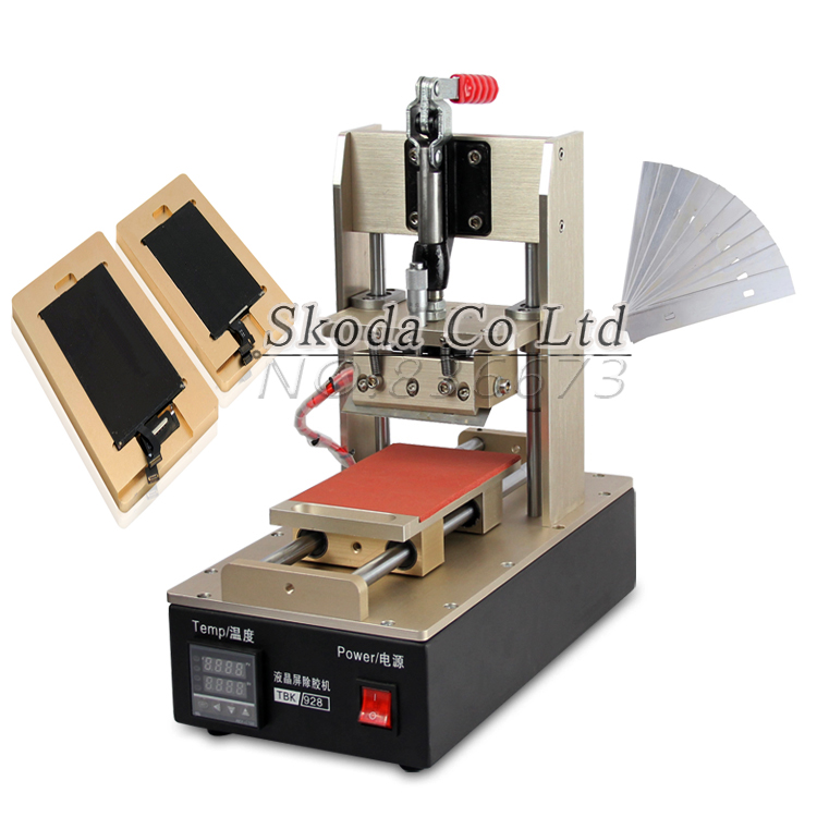 Wholesale Precision Adjustment Glue Remover Machine+2pcs glue remove mold for iPhone Sasmung LCD Touch Screen Glue Removing uyue new glue remover machine for various models mobile phone lcd touch screen glue remove machine gl368