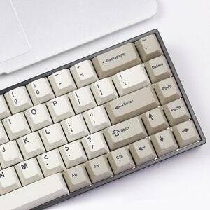 Image 2 - Tada68 メカニカルキーボード gateron swtich 65% レイアウト染料サブキーキャップ桜 profils enjoypbt キーキャップ桜プロファイル zealio スイッチ