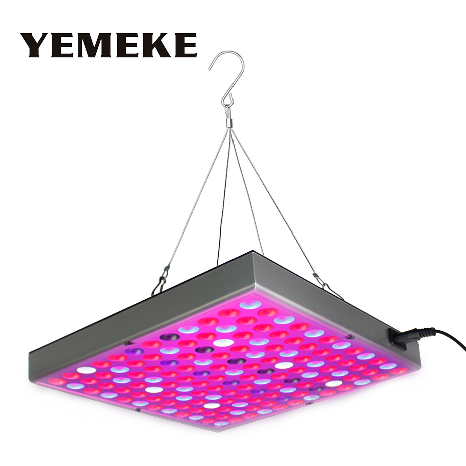 45W LED Grow Light Full Spectrum Fitolampy Red/Blue/White/UV/IR 390-730nm Led Plant Grow Light For Indoor Growing And Flowering цена