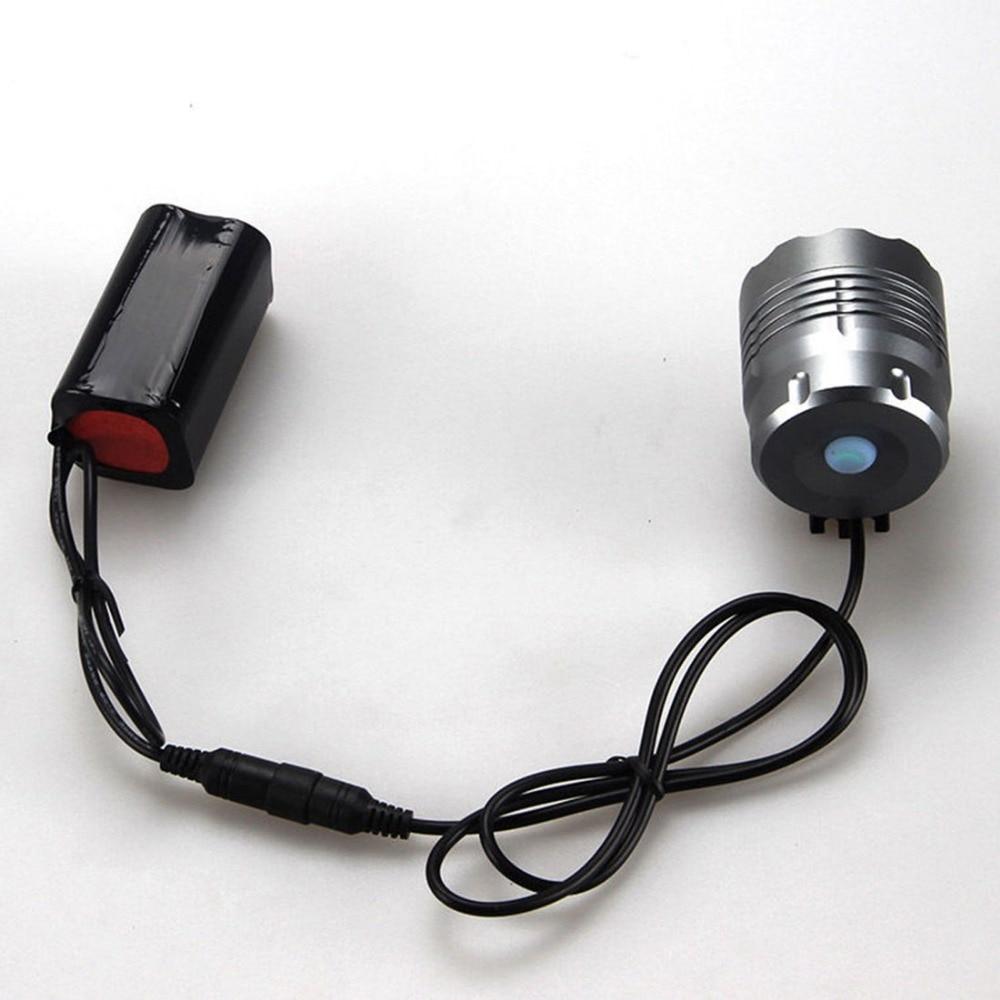 Təhlükəsizlik suya davamlı 5000Lm 5x XM-L U2 LED Velosiped - Velosiped sürün - Fotoqrafiya 4