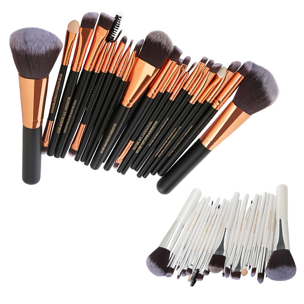 22 Pcs New Makeup Brush Set Powder Foundation Eyeshadow Eyeliner Lip Cosmetic Brush Kit Beauty Tools Maquiagem new 32 pcs makeup brush set powder foundation eyeshadow eyeliner lip cosmetic brushes kit beauty tools fm88