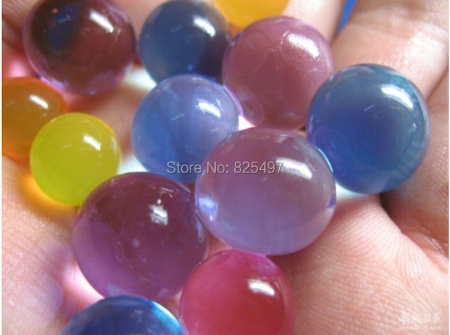 Crystal Ball Crystal Soil Water Hydrogel Gel Beads Water Vase Filler