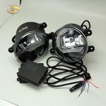 SNCN светодиодный туман лампа для Toyota Land Cruiser Prado FJ120 FJ150 2009 ~ 2016 Габаритные огни