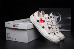 2018CONVERSE ALL STAR CDG PLAY x Converse 1970s Unisex 2018 Unisex Shoes High/Low women/men Canvas Skateboarding Shoes