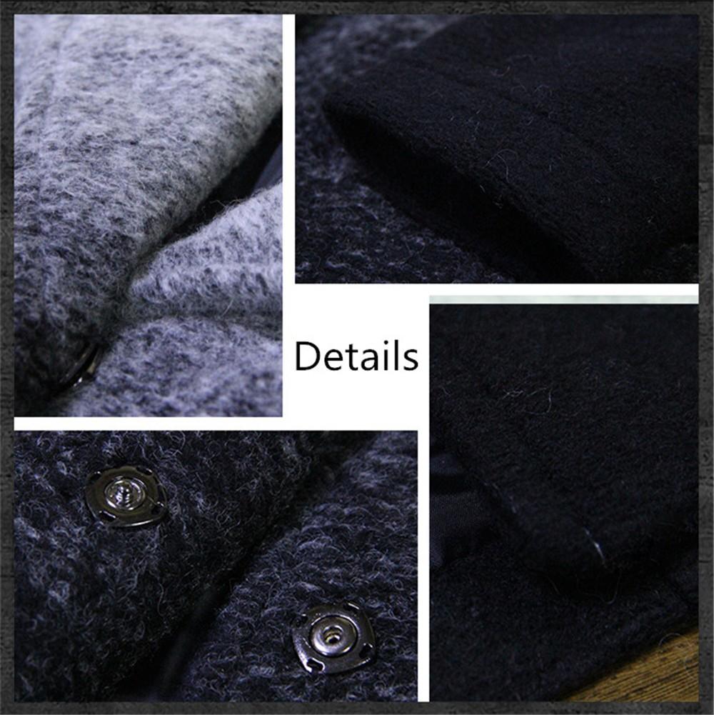 Vintage Warm Women Cashmere Coat 2016 High quality Winter Coat Women Long Sleeve Jacket Winter long Woman coats Cashmere coats (13)