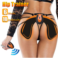USB Charging Hip Trainer Buttock Tightening Vibration Massager Electric Trainer Electric Muscle Stimulator Exercise Machine