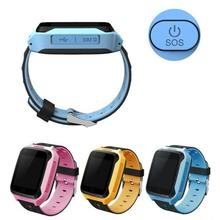 Children's GPS Smart Watches Phone Positioning Pedometer Watch SOS Emergency Bracelet Monitor Wristband Finder Device For Kids D