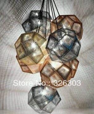 Shang billion lighting TOM DIXON design to etch metal art chandelier