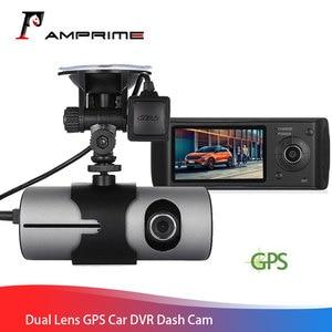 AMPrime Car DVR Dual Lens R300