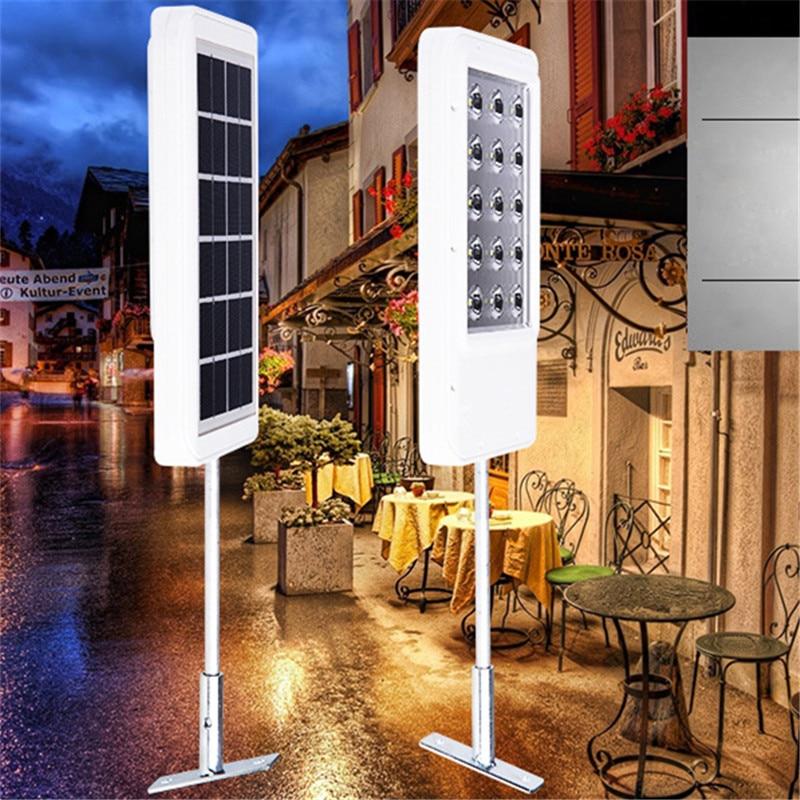 все цены на Super Bright 15 led LED Solar Panel Wall Street Lamp Outdoor Garden Landscape Light Waterproof Motion Sensor Energy Saving Decor