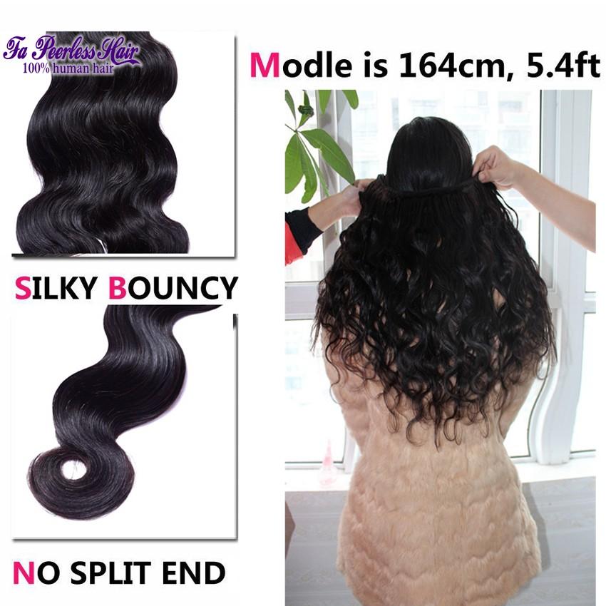 100% Unprocessed 7A Peruvian Virgin Hair Body Wave Cheap 1B Human Hair Weft Queen Hair Product Peruvian Body Wave 4 Bundles Rosa-003