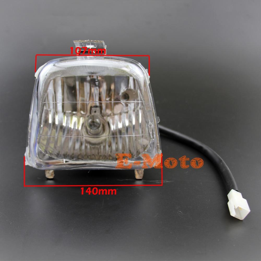 Chinese ATV/QUAD 4 Wires Headlight Assembly 50cc 70cc 90cc 110cc 125cc SUNL  ROKETA TAOTAO COOLSTER new on Aliexpress.com | Alibaba Group