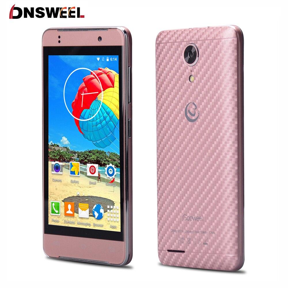 Original GOOWEEL M9mini mobile phone 4 5 inch IPS Android 5 1 MT6580 Quad Core cell