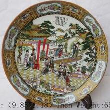 Изысканный китайский классический сон красных особняков belles фарфоровая тарелка