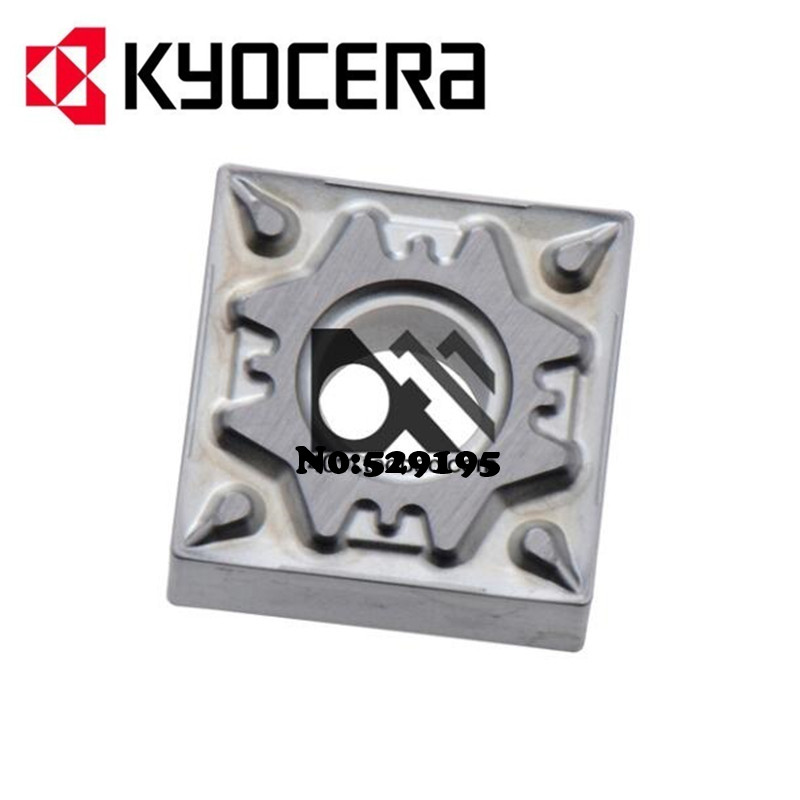 Kyocera SNMG120404-HQ SNMG120408-HQ TN60 Carbide Inserts SNMG 120404 120408 Lathe Cutter Tools Turning Tools Utensili Tornio CNC