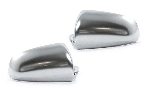 Remplacement de capuchon de rétroviseur latéral en Chrome mat argenté de Style S Line pour Audi A4 B7