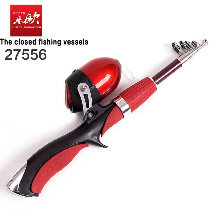 2017 New Arrivals Rod combo 1 4m Mini Fishing Rod Enclosed Within The Outlet Fishing Reel