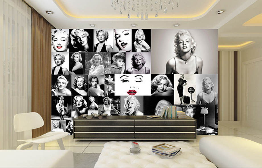 ... Awesome Marilyn Monroe Wall Murals Design Ideas Part 34