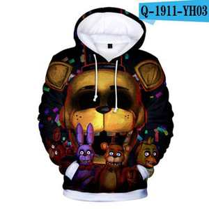 Image 5 - Novo outono 3d imprimir cinco noites em freddys moletom para meninos escola hoodies para meninos fnaf traje para adolescentes roupas esportivas