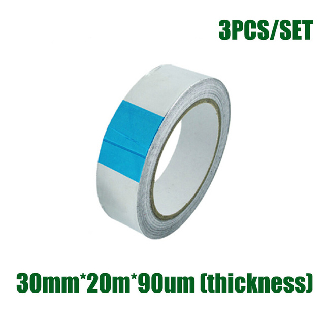 Temporary Exhaust Pipe Ducts Repairs Duct Tape High Temp Resistant Aluminum Foil Heat Shield Tape 30mm  sc 1 st  AliExpress.com & Temporary Exhaust Pipe Ducts Repairs Duct Tape High Temp Resistant ...