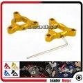 Para yamaha mt-09 mt-09 tracer/tracer 900 mt09 acessórios da motocicleta 14mm cnc alumínio suspensão fork preload ajustadores de ouro